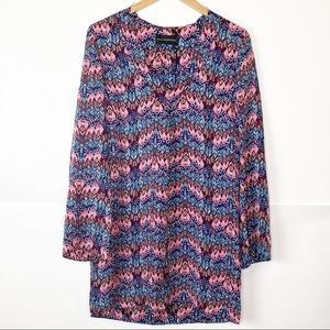 NWT Zadig & Voltaire Deluxe Tine Print Silk Dress